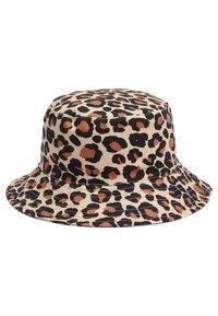 Next - TAN LEOPARD PRINT FISHERMAN'S HAT (OLDER) - Hat - multi-coloured - 0