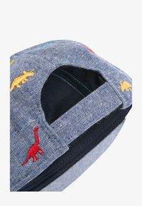 Next - MULTI CHAMBRAY DINOSAUR CAP (YOUNGER) - Cap - blue - 1