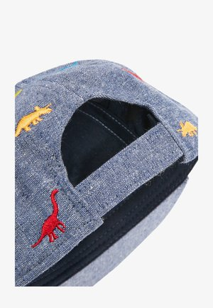 MULTI CHAMBRAY DINOSAUR CAP (YOUNGER) - Cap - blue