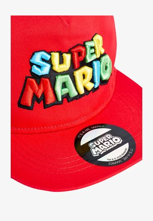 RED SUPER MARIO CAP (OLDER) - Cap - red