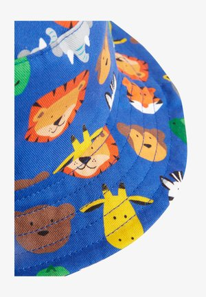 MULTI ANIMAL ALL OVER PRINT FISHERMAN'S HAT (YOUNGER) - Hat - blue