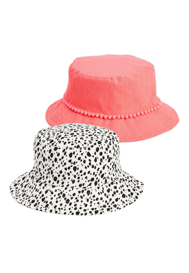 CORAL/DITSY 2 PACK FISHERMAN'S HATS (YOUNGER) - Hat - pink