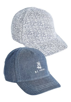 NAVY/WHITE 2 PACK CAPS (YOUNGER) - Cap - blue
