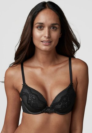 CARA  - Push-up BH - black
