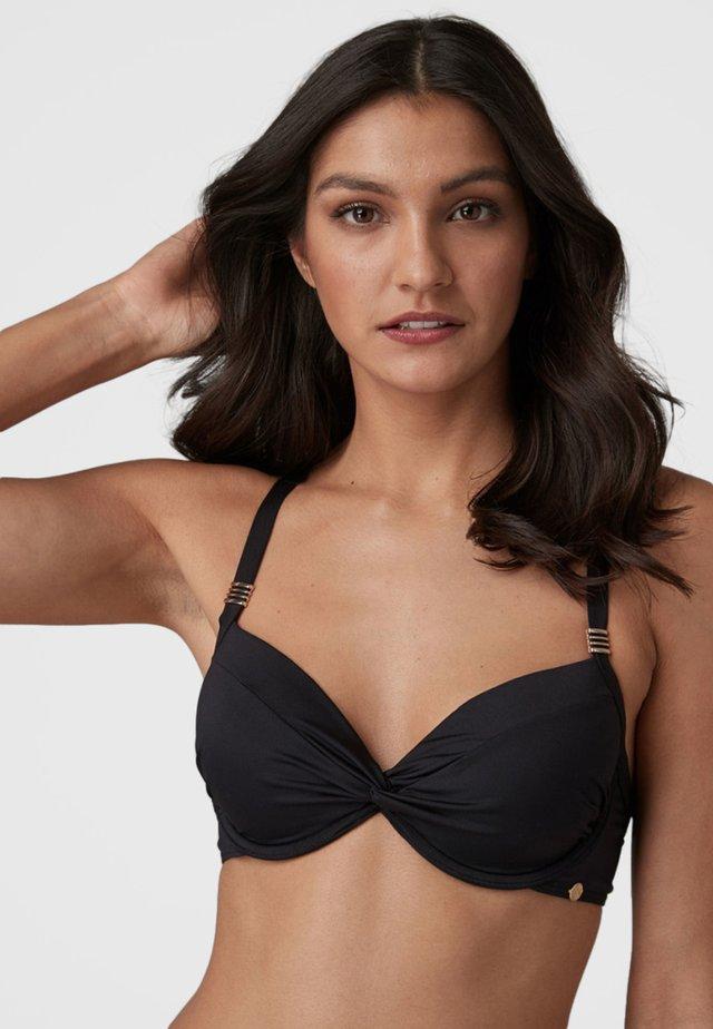 SHAPE ENHANCING - Bikini pezzo sopra - black