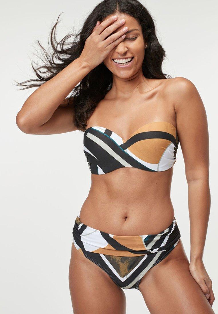 Next - BRALET - Bikini top - mottled black