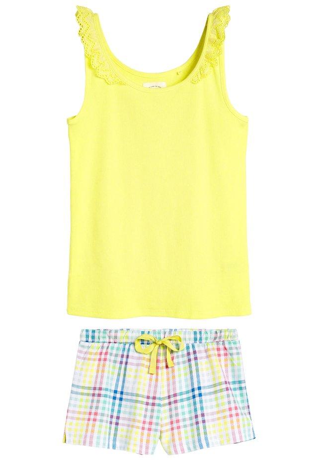 SET - Nachtwäsche Set - yellow