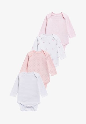 FOUR PACK 0MTHS-3YRS - Body - pink/white