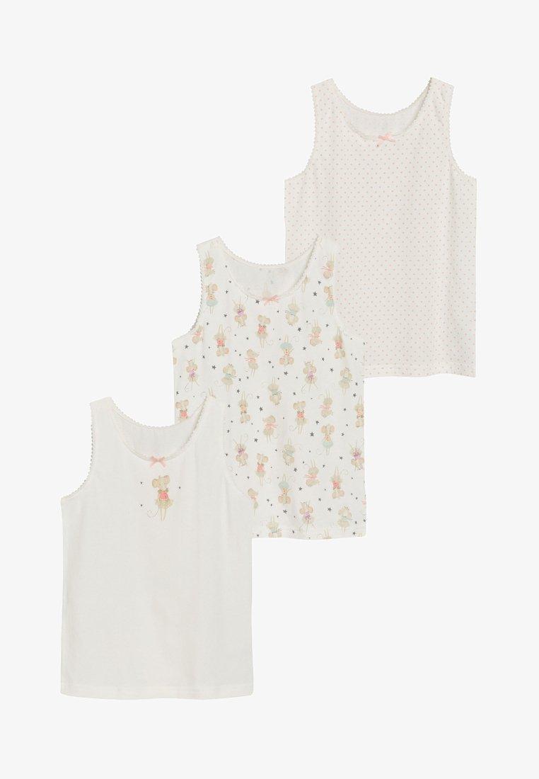 Next - 3 pack - Unterhemd/-shirt - off-white