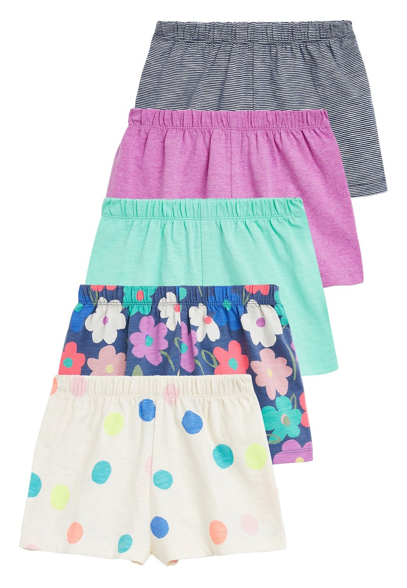 Next - MULTI 5 PACK SHORTS (3MTHS-7YRS) - Kraťasy - pink