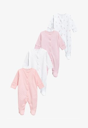 SLEEPSUITS FOUR PACK - Pyjama - pink