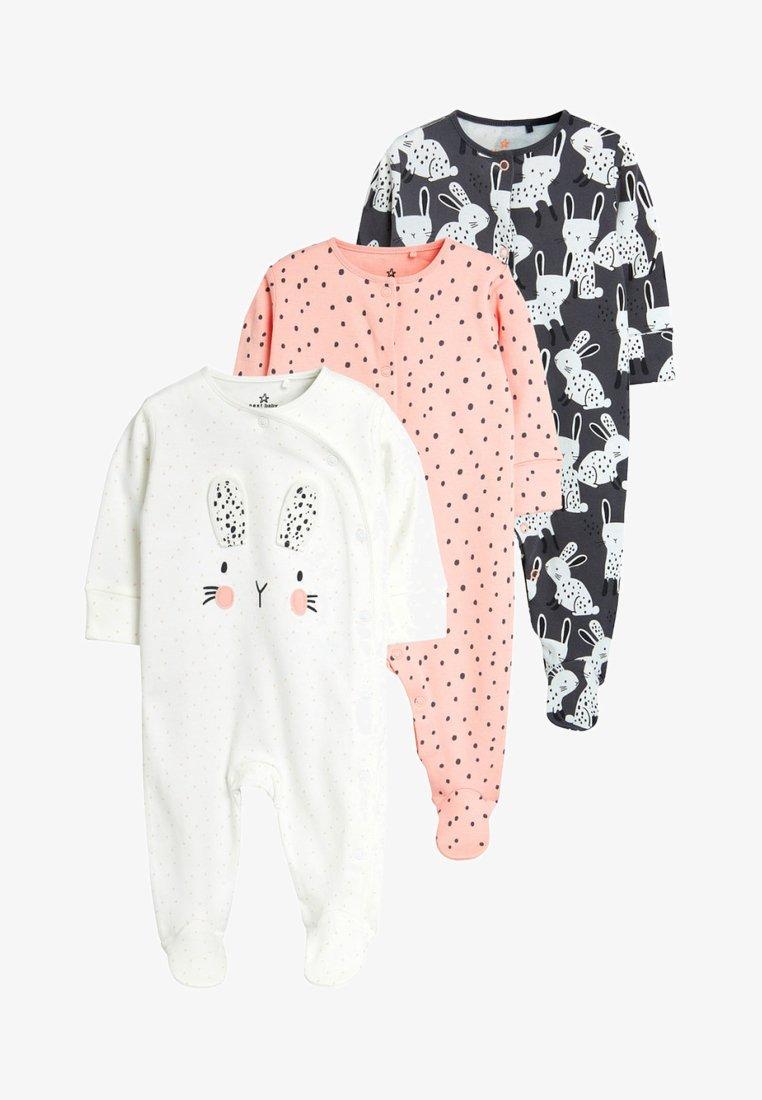 Next - BUNNY THREE PACK - Pyjama - off white