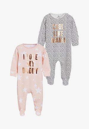 2 PACK - Pyjamaser - pink
