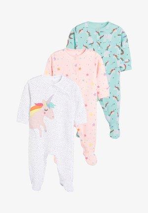 3 PACK  - Sleep suit - white