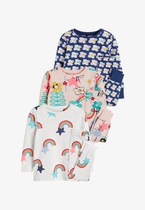 3 PACK FLORAL - Pyjama set - pink