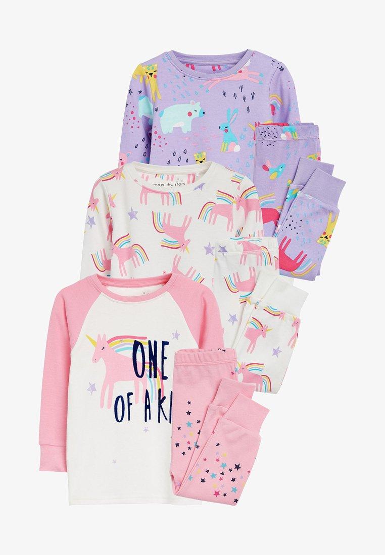 Next - 3 PACK - Pyjama set - pink