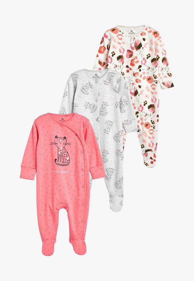 3 PACK - Piżama - pink