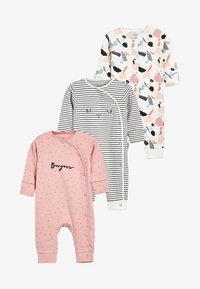 Next - 3 PACK - Pyjama - pink - 0