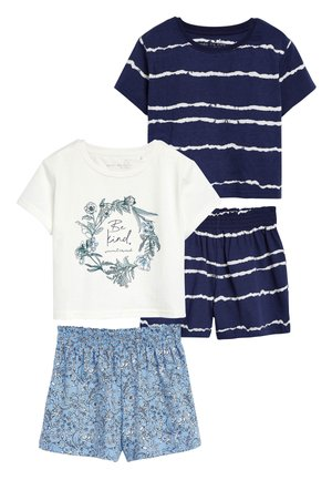 BLUE 2 PACK BE KIND SHORT PYJAMAS (3-16YRS) - Pyjama set - blue