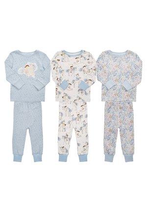3 PACK - Pyžamo - blue