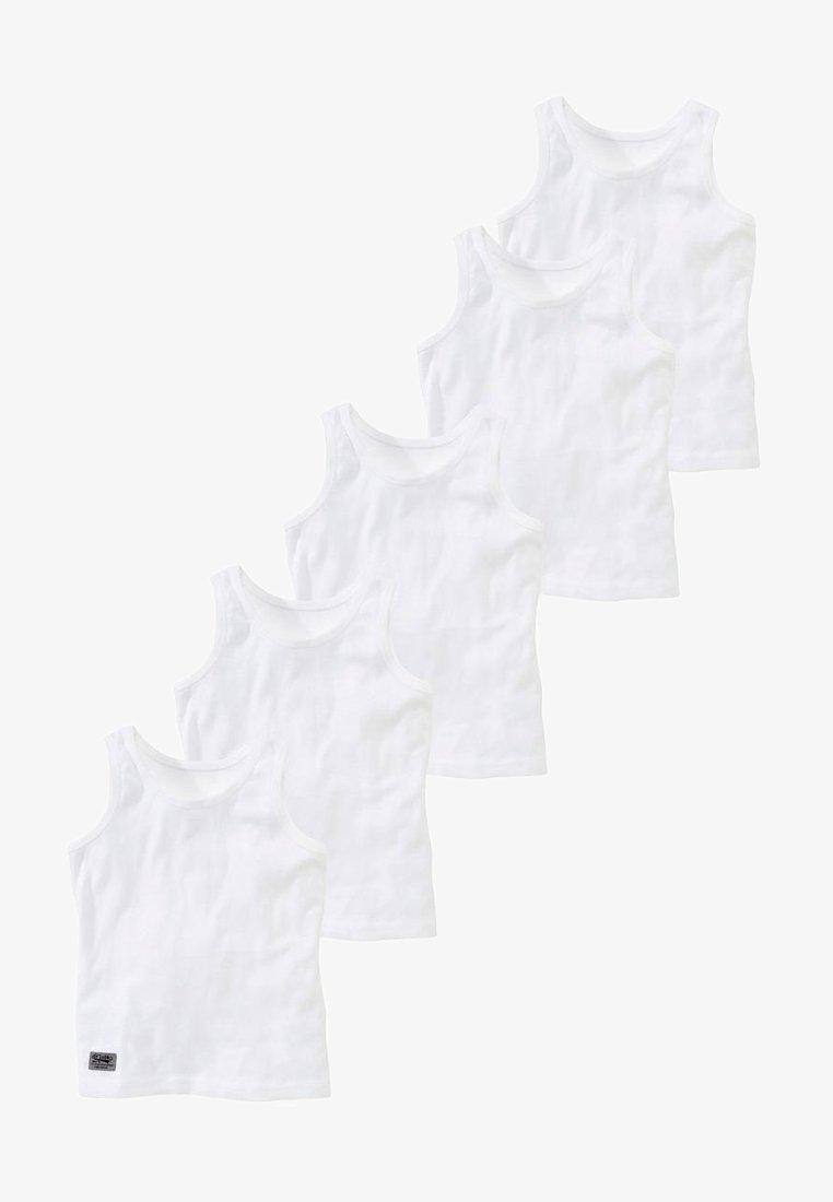 Next - 5 PACK - Unterhemd/-shirt - white