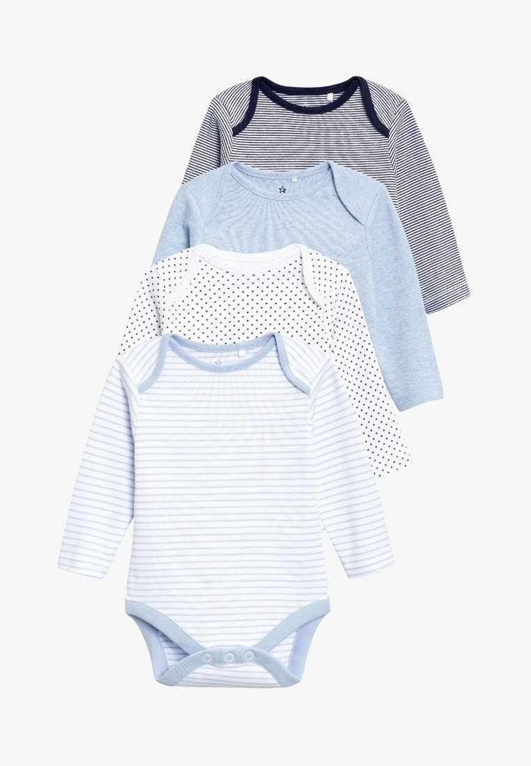 Next - LONG SLEEVE FOUR PACK - Body - blue
