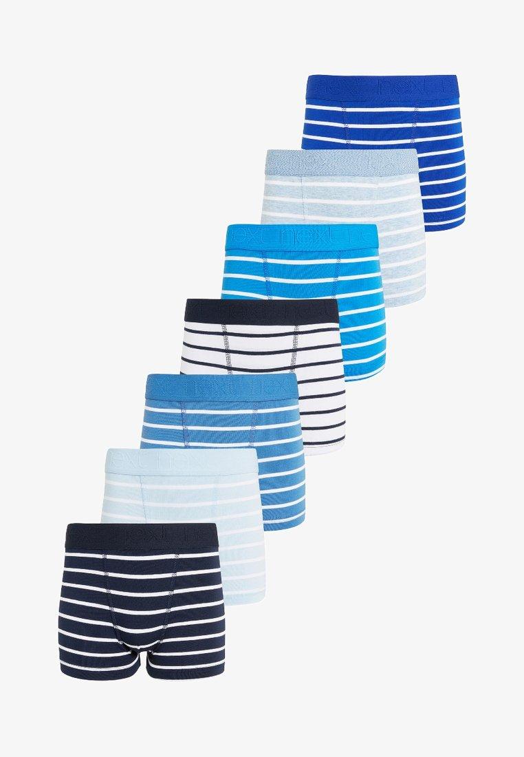 Next - STRIPE 7 PACK  - Panties - blue