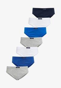 Next - 7 PACK - Briefs - blue - 0