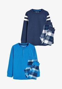 Next - 2 PACK  - Pyjama set - blue - 0