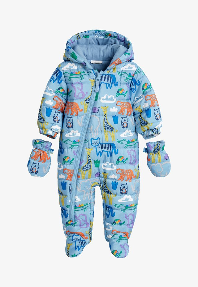 ANIMAL PRAMSUIT  - Overall - blue
