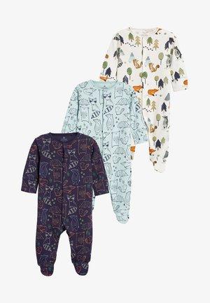3PACK - Pijama - blue