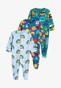 Next - 3 PACK - Pijama - green - 0