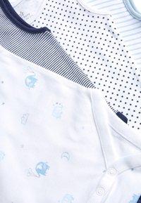 Next - BLUE/WHITE 4 PACK ELEPHANT VEST BODYSUITS (0MTHS-3YRS) - Body - blue - 5