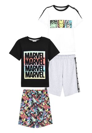 MULTI 2 PACK MARVEL® SHORT PYJAMAS (3-12YRS) - Pyžamová sada - black