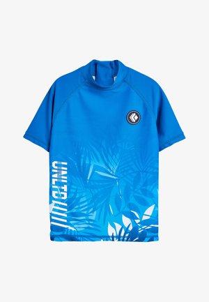 BLUE HAWAIIAN RASH VEST (3-16YRS) - Surffipaita - blue
