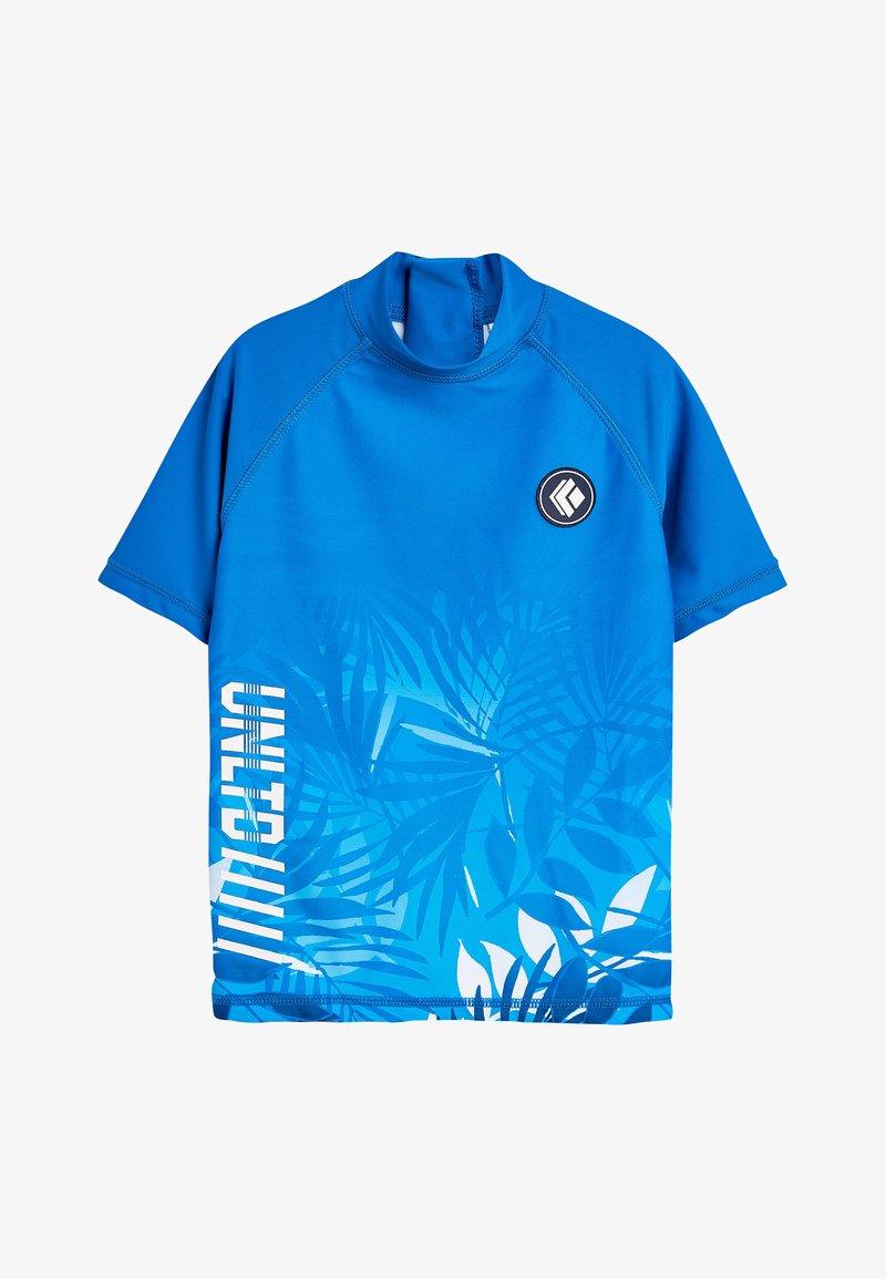 Next - BLUE HAWAIIAN RASH VEST (3-16YRS) - Surffipaita - blue