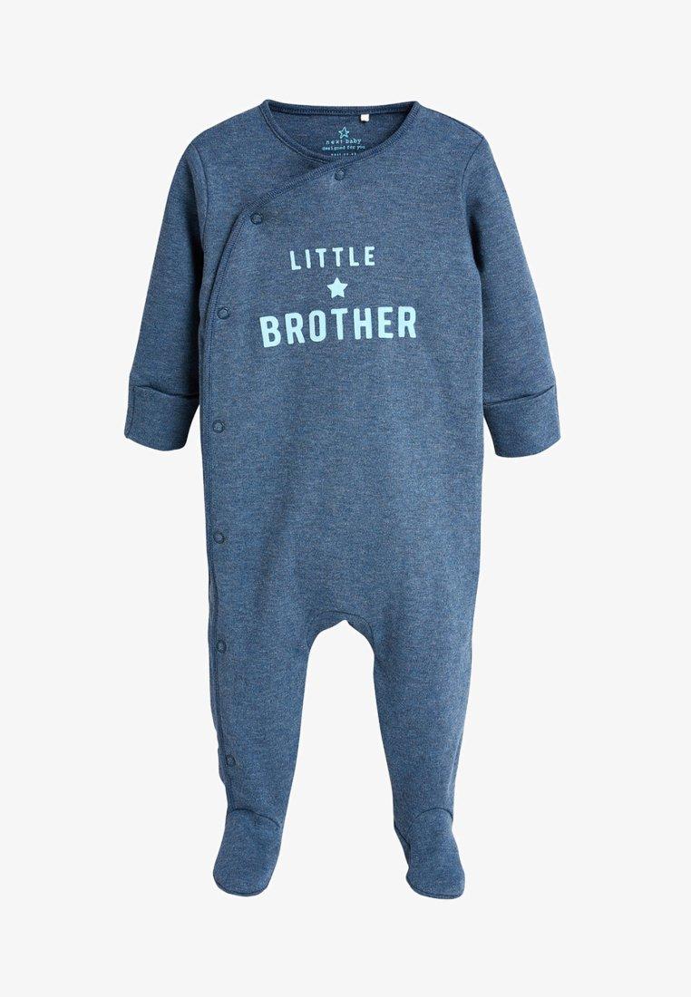 Next - BROTHER SLOGAN - Pyjama - blue