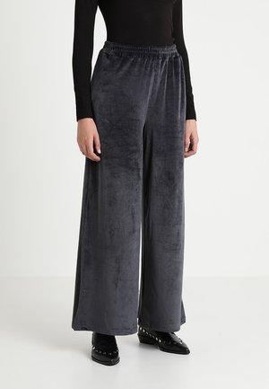 PLUSH PANT - Trousers - grey