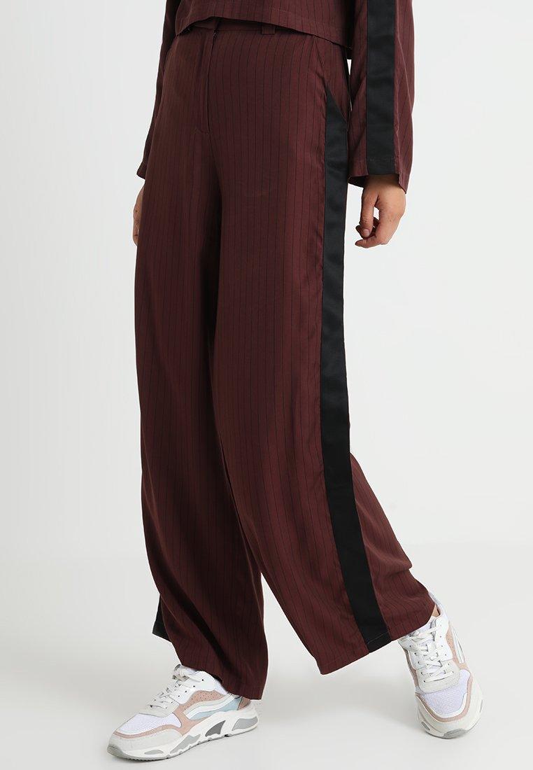 Native Youth - NIGHTJAR PANT - Trousers - burgundy
