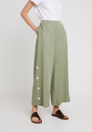 THE SERENA PANT - Trousers - mint