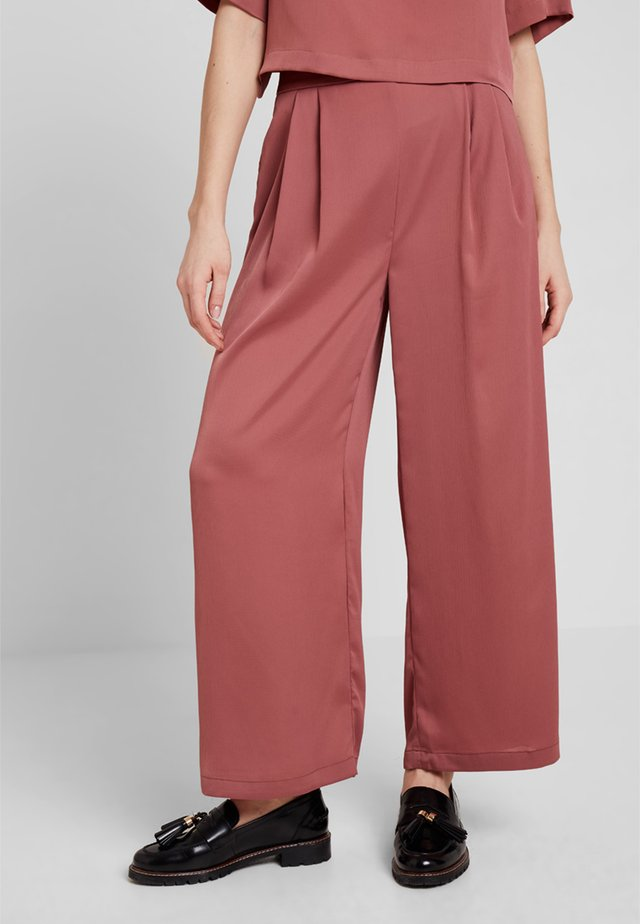 THE ANUDARI PANT - Stoffhose - pink