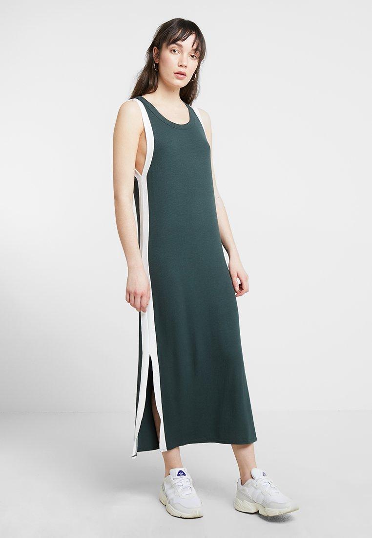 Native Youth - THE RAY  - Maxi dress - green white