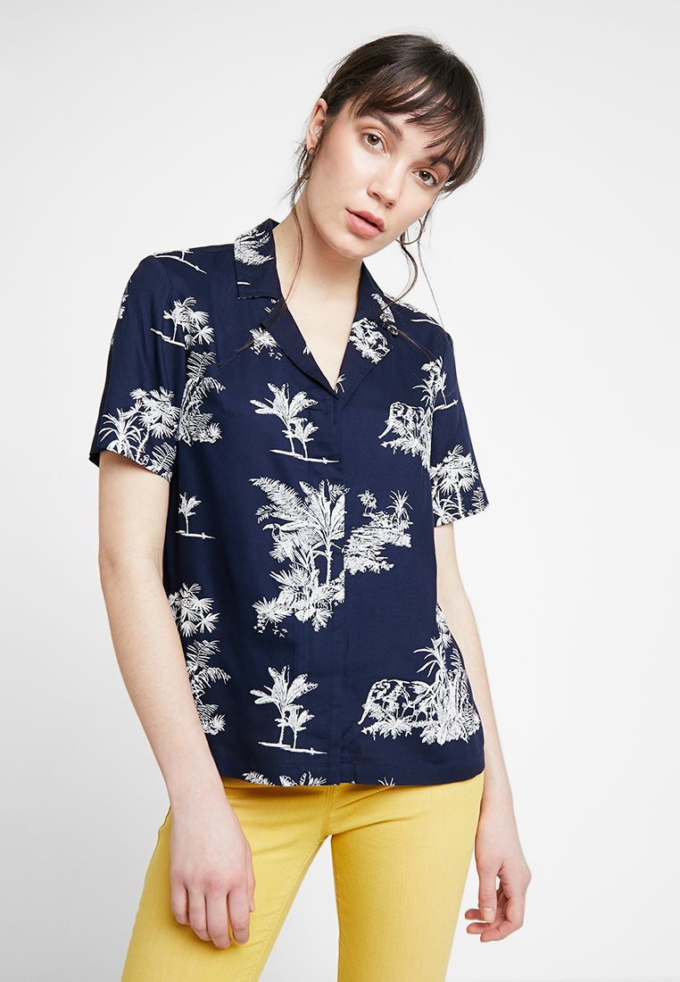 Native Youth - THE ISLA - Button-down blouse - navy