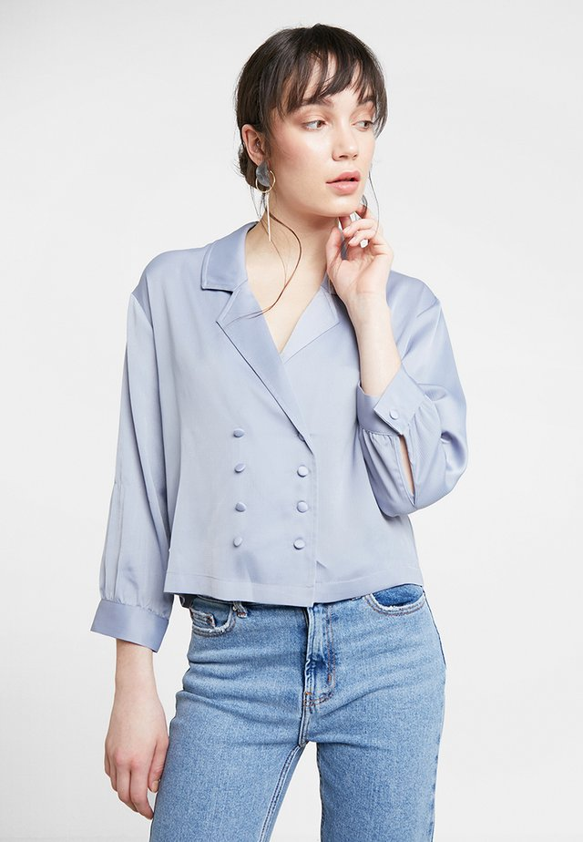 THE FRIDA BLOUSE - Blus - blue