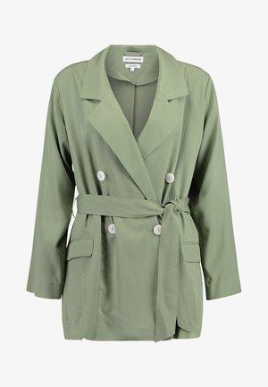 THE SERENA - Short coat - sage
