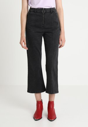 CIELO - Flared Jeans - washed black