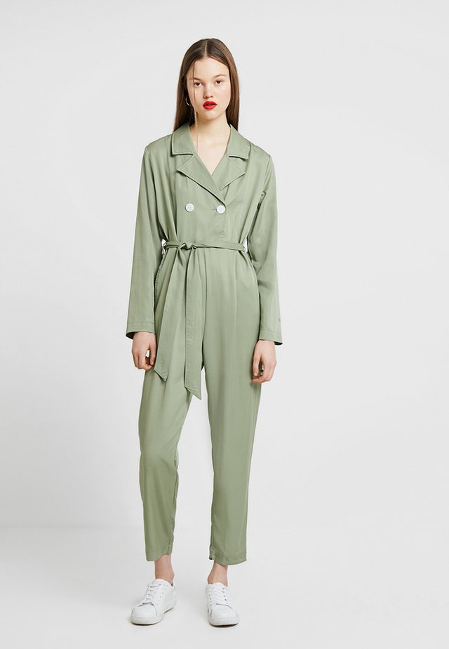THE SERENA - Overall / Jumpsuit - sage