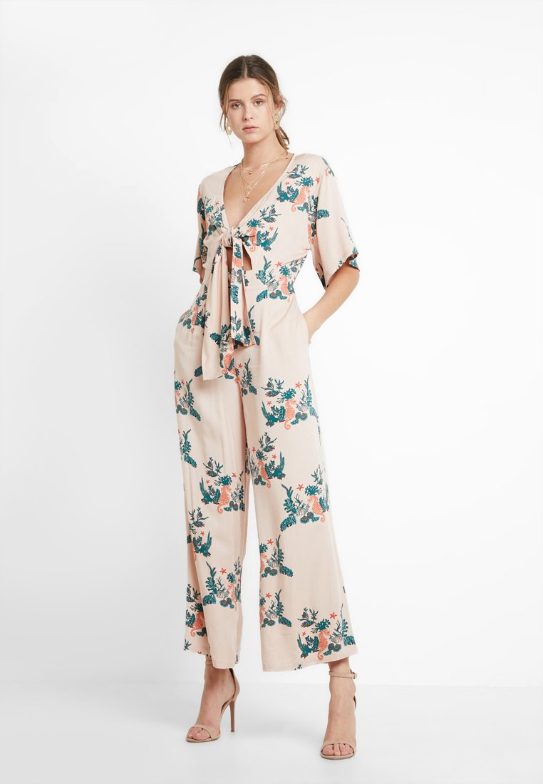 Native Youth - THE SHELLDON - Jumpsuit - coral