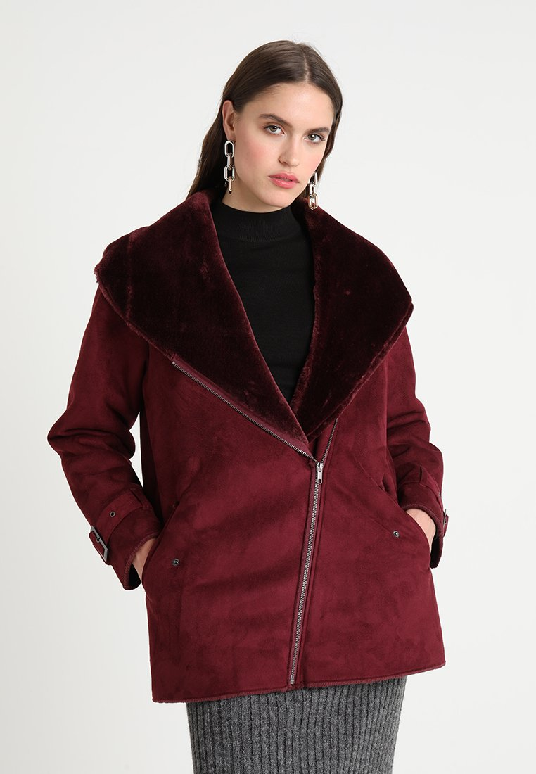 Native Youth - HACIENDA AVIATOR - Wintermantel - burgundy