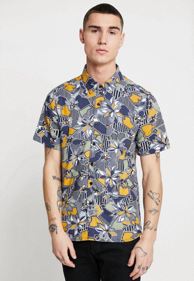 GEOFLORA - Shirt - navy